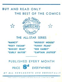 World Famous American Comics (1952?)