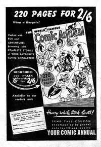World Famous Comic Annual [220 pages for 2/6] (1953?)