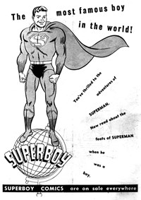 Promotion: The Most Famous Boy in the World! [Superboy]