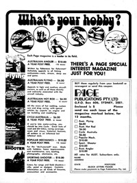 Page Publications Pty. Ltd. [What's your hobby?] (1977?)