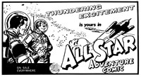 All Star Adventure Comic [20 cents] (1969?-1971?)