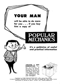 Popular Mechanics [Your man will be able to do more for you…] (1970?-1975?)