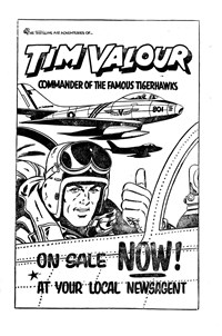 Promotion: Tim Valour [The Thrilling Air Adventures of…]