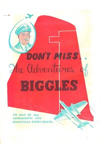 Promotion: The Adventures of Biggles [Don't miss…]