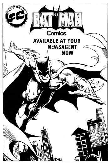 Batman Comics [Federal Comics] (1983)