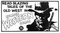 Bumper Western Comic [20 cent] (1969?-1974?)