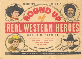 Fawcett's Round Up of Real Western Heroes (1949?)