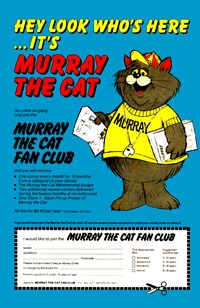 Murray the Cat Fan Club [Blue] (1983)