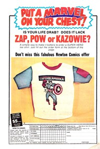 Put a Marvel On Your Chest! [Captain America] (1976)