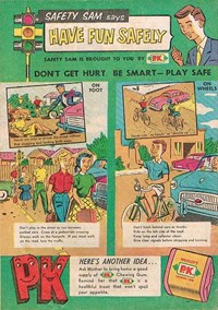 Wrigley's [Safety Sam Says Have Fun Safely] [K31] (1959?)