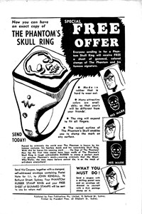 The Phantom's Skull Ring [Special free offer] (1955?)