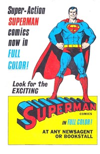 Super-Action Superman Comics [Superman comics in full color!] (1977?-1979?)
