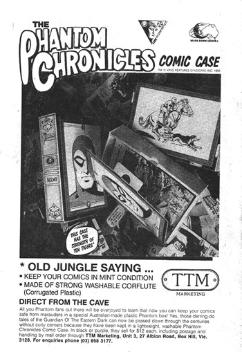 The Phantom Chronicles Comic Case (1993)