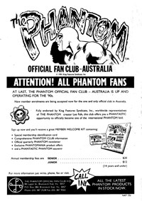 The Phantom Official Fan Club Australia [Call in!] (1991)