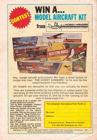 Win a… Model Aircraft Kit (1975)